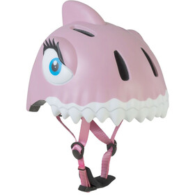 Crazy Safety Shark Helm rosa